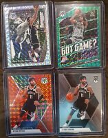 2019-20 Panini Mosaic Kyrie Irving Lot (4) - Silver Swagger, Green Got Game? Red