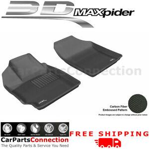 Floor Mats L1TY02411509 For Toyota Yaris 07-11 HB SDN Scion XD 08-12 KAGU BLK