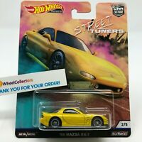 '95 Mazda RX-7 * 2019 Hot Wheels STREET TUNERS Car Culture Case L * A4