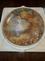 """Alice In Wonderland """"A Cheshire Cat"""" Plate By Scott Gustafson"""