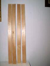 4 LATTES EN BOIS SOMMIER LIT OU CANAPE CLIC CLAC /  87,5 x 5,3 x 0,8 cm