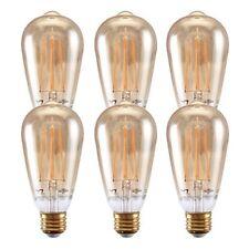 7Pandas Dimmable 4.8W LED Filament Bulb Vintage Edison Light Bulbs E26 pack of 6