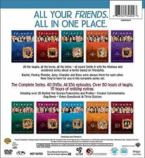 Friends Complete Series Collection Seasons 1-10 DVD SET TV Show Aniston Lot Box