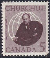 CANADA 12 AUG 1965 WINSTON CHURCHILL COMMEMORATIVE STAMP MM