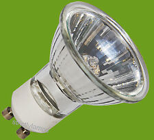 35w = 50w  15 x GU10 Halogen Energy Saving Light Bulbs