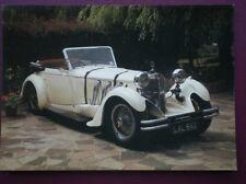 POSTCARD CAR MERCEDES 1932 CAR