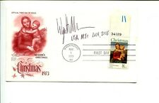 Wyatt Allen US Olympic Gold & Bronze Medal Eights Rowing Signed Autograph FDC