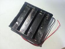 Battery Case Box Holder for 4x 18650 Li-ion 3.7V Batteries Cell 14.8V in series