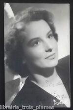 ✒ Photo dédicacée Madeleine GEORGE actrice