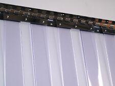 Clear Flexible PVC Strip Curtain Door - 1m Wide x 2.2m High - Door Strips