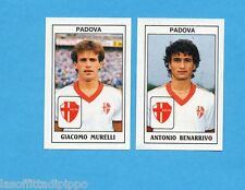 PANINI CALCIATORI 1989/90 -Figurina n.442- MURELLI+BENARRIVO -PADOVA-Recuperata