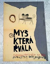 ** THE MOUSE THAT ROARED ** 1SH Original Czech Poster Peter Sellers