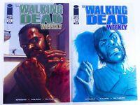 IMAGE Comics WALKING DEAD WEEKLY #23-24 Key LOT Robert KIRKMAN VF/NM Ships FREE!