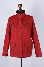 Barbour Printed Utility Classic Waxed Jacket Size 14-15 Years / XXL