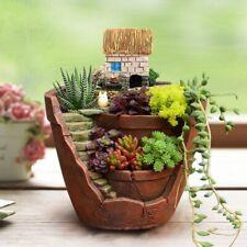1pcs 9x12cm Succulent Flower Planter Plant Sky Garden Bonsai Pot Green Plants
