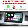 AUDI A6 C6 2004 - 2008 2G MMi Integrated Apple CarPlay Android Auto Install