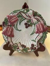 Fitz & Floyd Essentials Canapé or Hanging Plate Blackberry Rabbit Preowned Mint