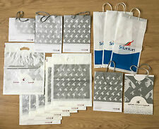 Qatar airways SriLankan Sri Lankan BAGS box cardboard plastic retail shopping