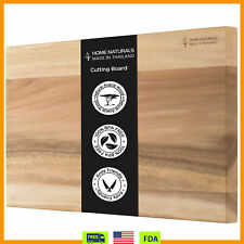 Kitchen Chopping Cutting Board for Meat Reversible Butcher Block Thick &Durable