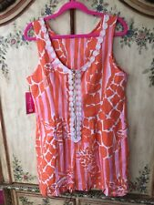 👘 NWT LILLY PULITZER TARGET SHIFT Dress 16W Girraffing Me Crazy MATCHING SCARF!