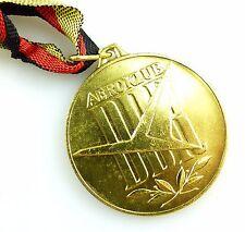 #e5601 Aeroklub der DDR goldfarben Internationaler Wettkampf Flugmodellsport
