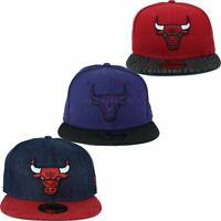 New Era, NBA 59Fifty Chicago Bulls Fitted Baseball Caps, Is Money Time, Snapback