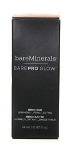 BARE MINERALS BARE PRO GLOW BRONZER - WARMTH - 14 ML / 0.47 FL OZ