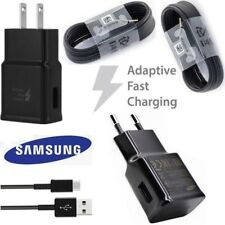 Original Adaptive Fast Wall Charger Cable Samsung Galaxy S10 S8 S9 Plus Note 9 8