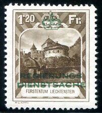 LIECHTENSTEIN DIENST 1932 8B ** POSTFRISCH TADELLOS 520€(Z2445
