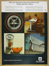1966 George Nelson Action Office 1 Desk photo ALCOA Aluminum vintage print Ad