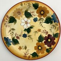 "Vintage Oneida Dinner Plate Kitchen Sunset Bouquet Floral 10-3/4"" Diameter"