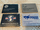 US Air Force History Cards
