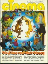 CINEMA Sonderband Nr.6 von 1981 Die Filme von Walt Disney - TOP Z0-1