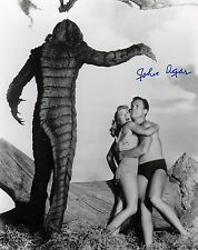 RARE!  John Agar (1921-2002) Revenge of the Creature (1955) 8x10 AUTOGRAPHED