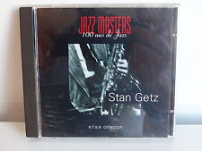 CD ALBUM Jazz masters 100 ans de jazz STAN GETZ