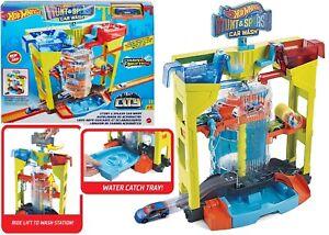Hot Wheels Colour Shifters Stunt Splash Car Wash Ages 4+ Toy Race Water Color