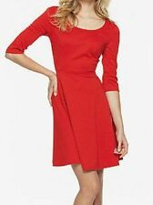No Pattern Crew Neck Empire line Knee Length Women's Dresses
