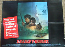 Sidney Poitier   Tom Berenger DEADLY PURSUIT((1988)Original movie poster