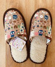 Sanrio Characters*Hello Kitty*Keroppi*My Melody*Purin*Cinnamaroll*Plush Slippers