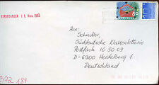 Netherlands 1993 Cover To Germany #C14462
