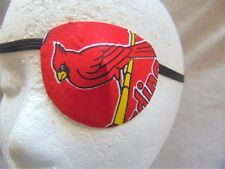 Adult unisex handmade St. Louis Cardinals eye patch-eye aide-2 styles available