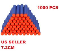 Lot 1000 PCS Refill Foam Darts for Nerf N-strike Elite Series Blasters Bullets