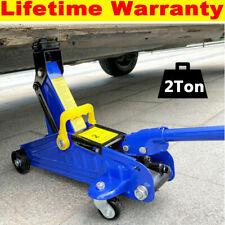 Heavy Duty 2 Ton Hydraulic Floor Jack For Car Van Suv Lift Trolley Jack With Case