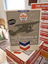 SPECIAL EDITION - 1st IN THE SERIES CHEVRON - 1930 STEARMAN 4E DIECAST AIRPLANE