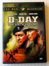 D-Day The Sixth Of June ~ Rare No Barcode Not For Sale DVD ~ OOP World War Movie