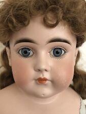 "Antique German (?) 28"" Kestner (?) Turned Bisque Head Doll Closed Mouth"