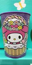 SANRIO HELLO KITTY MY MELODY PLASTIC CUP NEW!