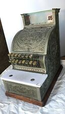 """National Cash Register Brass Model 313 Candy Store Rare Size Approximately 17"""" H"""