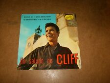 CLIFF RICHARD - UN SALUDO DE CLIFF - EP SPAIN HMV 13955  -  ONLY COVER NO RECORD