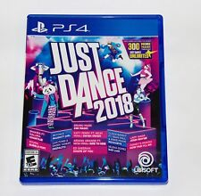 Replacement Case (NO GAME) Just Dance 2018 PlayStation 4 PS4 Box